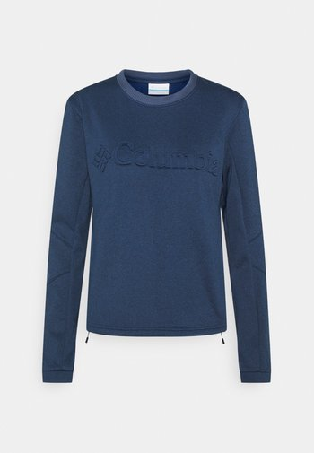 WINDGATES™ TECH - Fleece jumper - nocturnal heather