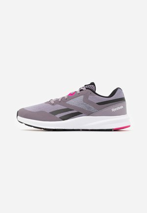 RUNNER 4.0 - Laufschuh Neutral - gravity grey/black/proud pink