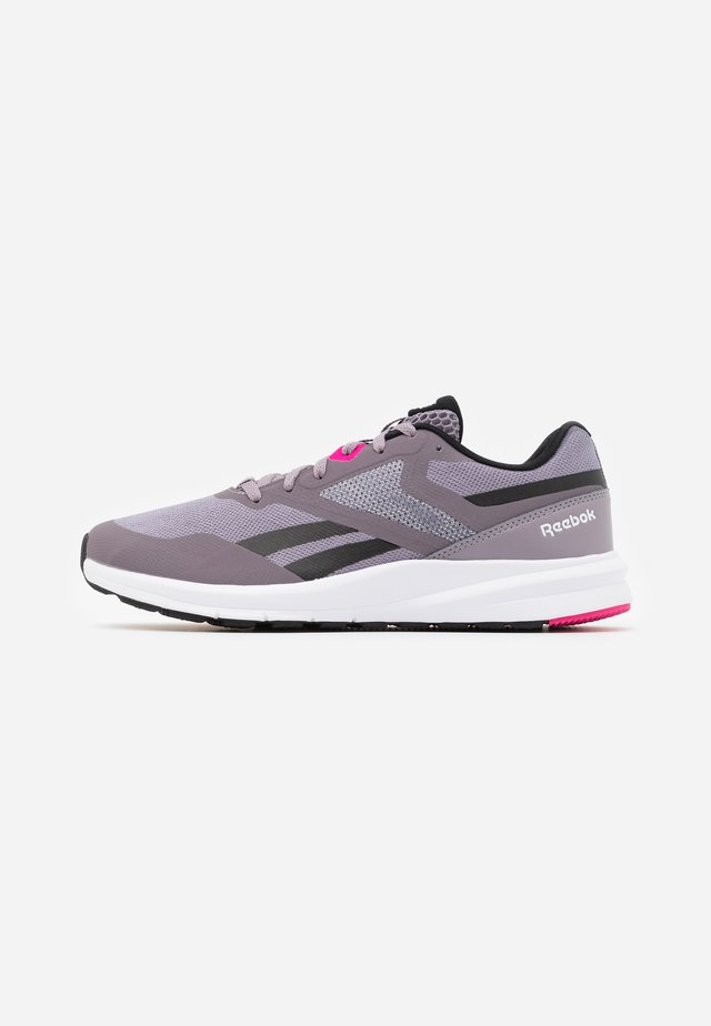 RUNNER 4.0 - Zapatillas de running neutras - gravity grey/black/proud pink