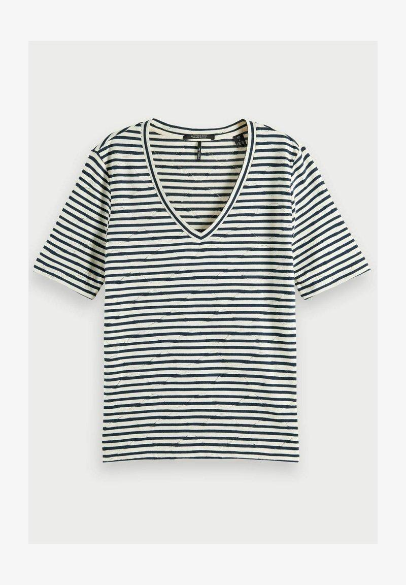 Scotch & Soda - Print T-shirt - combo c