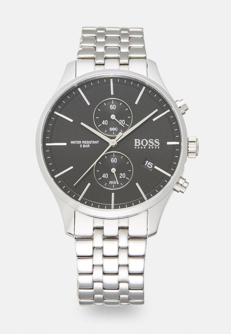 BOSS - ASSOCIATE - Cronógrafo - silver-coloured/black