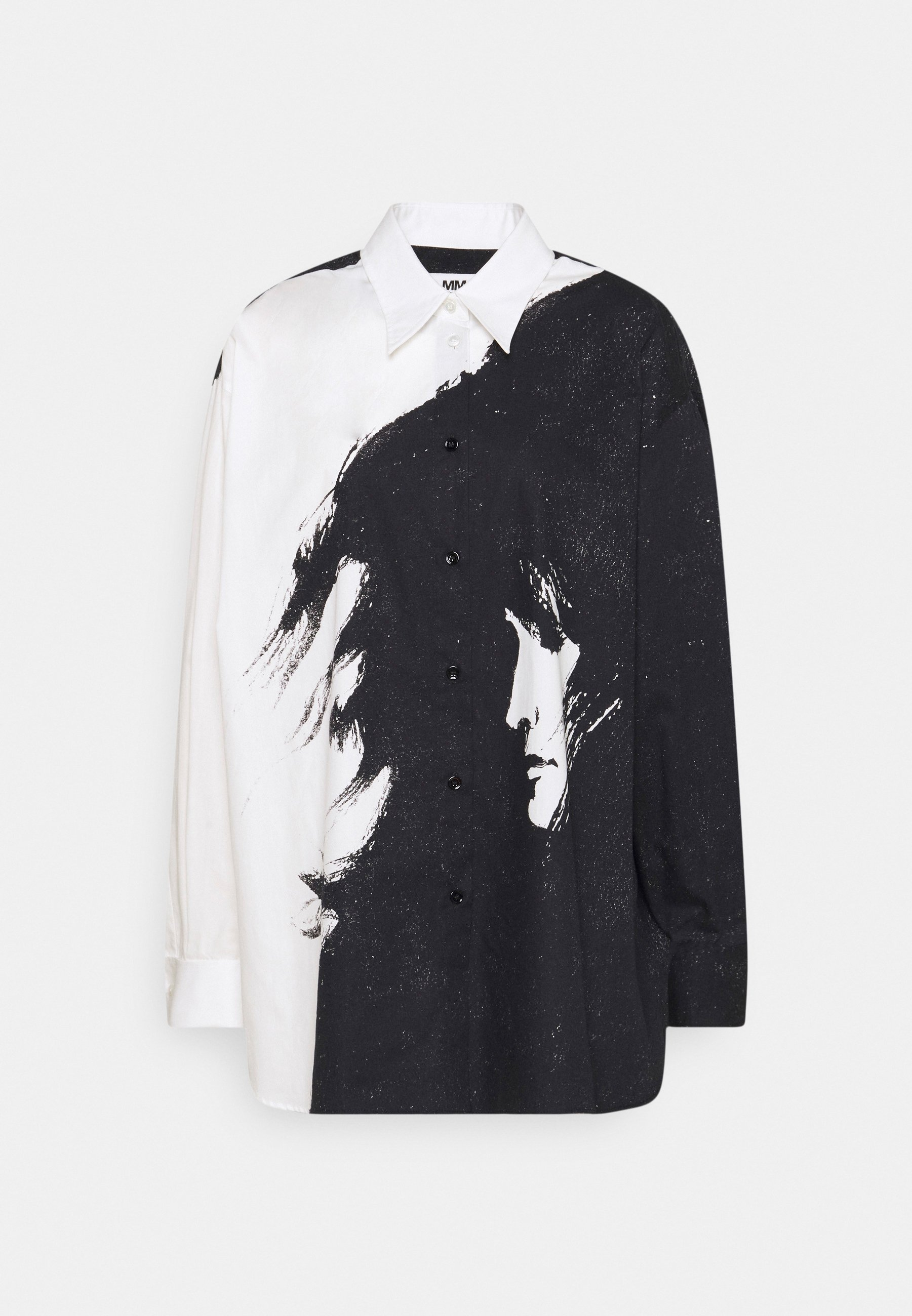 Women CAMICIA - Button-down blouse - all over nocturne