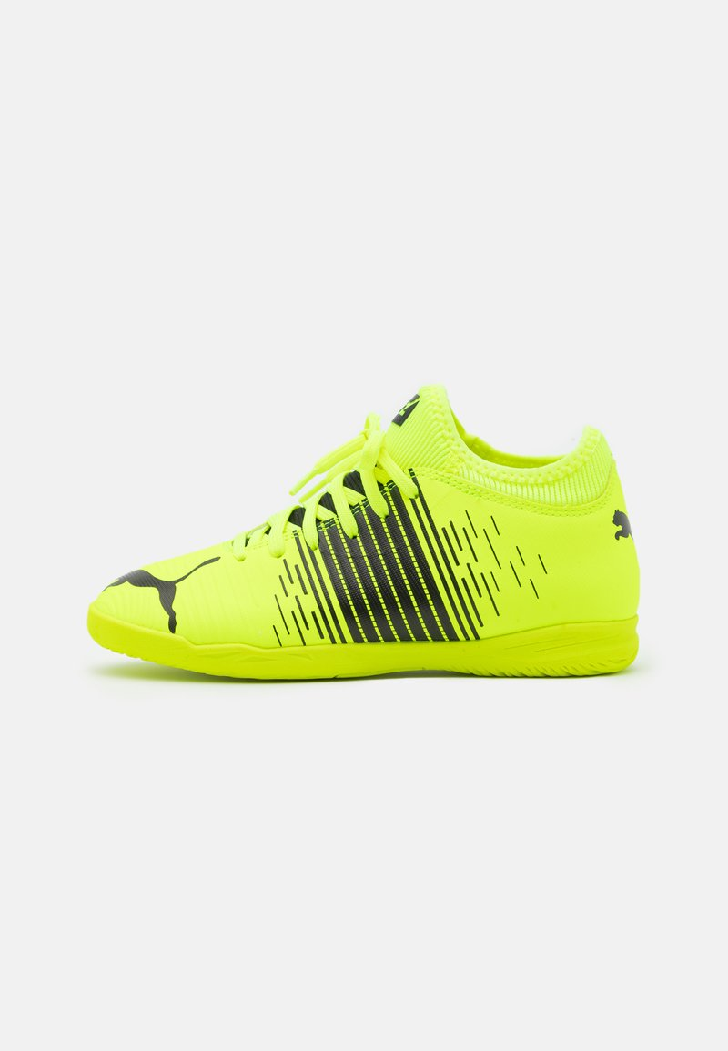 Puma - FUTURE Z 4.1 IT JR UNISEX - Indoor football boots - yellow alert/black/white
