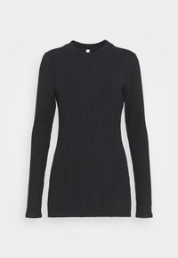 BLISSED OUT LONG SLEEVE - Top s dlouhým rukávem - black