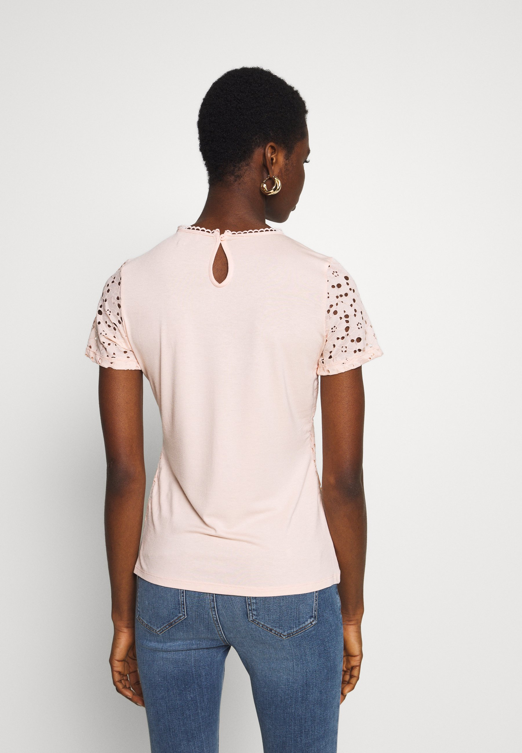 Dorothy Perkins Short Sleeve Tee - Bluser Apricot/oransje