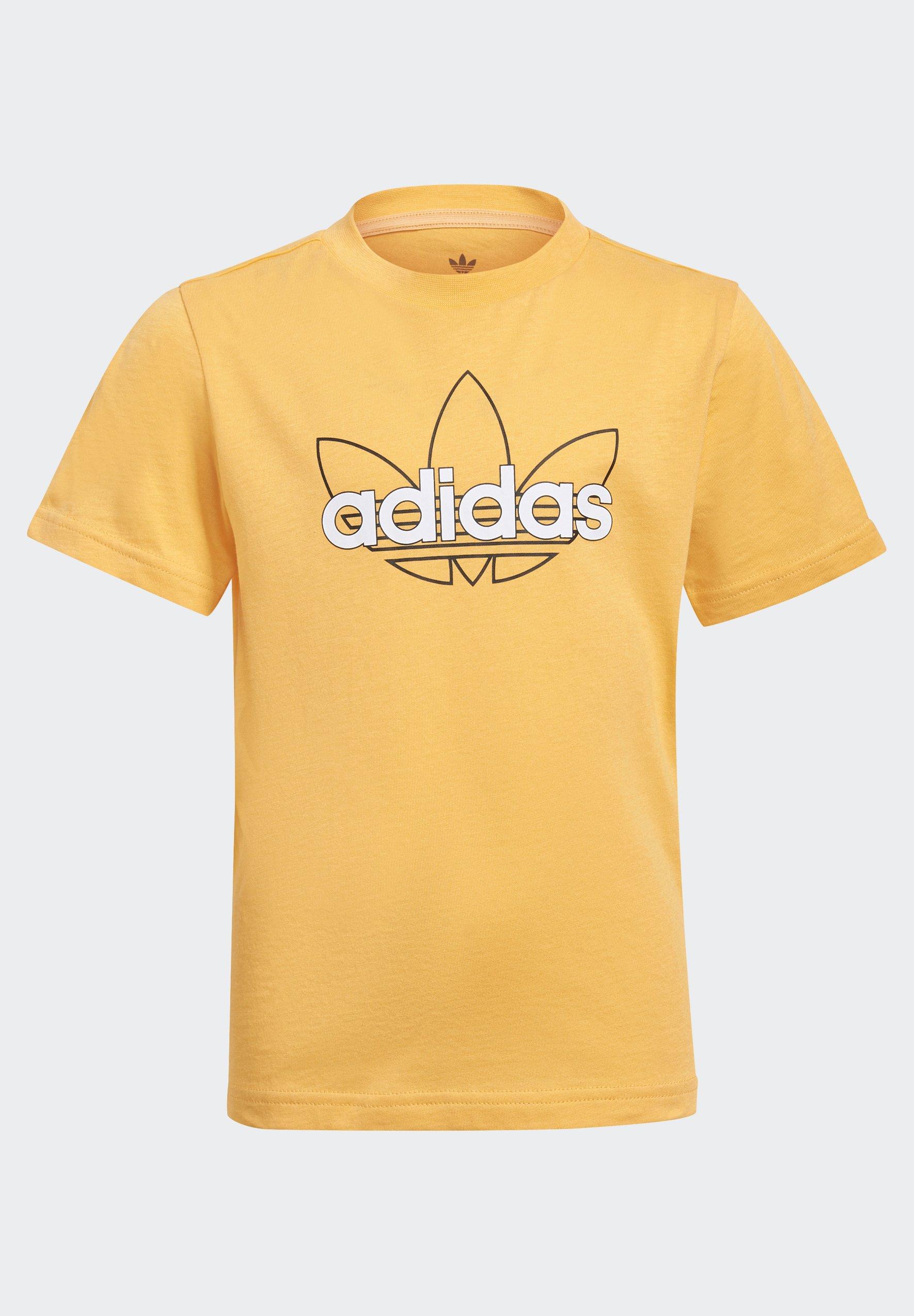 Kids OUTLINE TREFOIL UNISEX - Print T-shirt