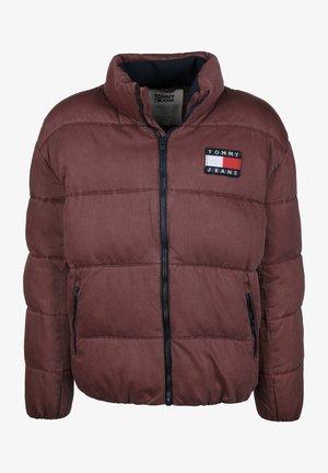 WASHED PADDED - Winter jacket - burgundy