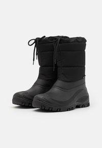 Pier One - UNISEX - Winter boots - black - 1