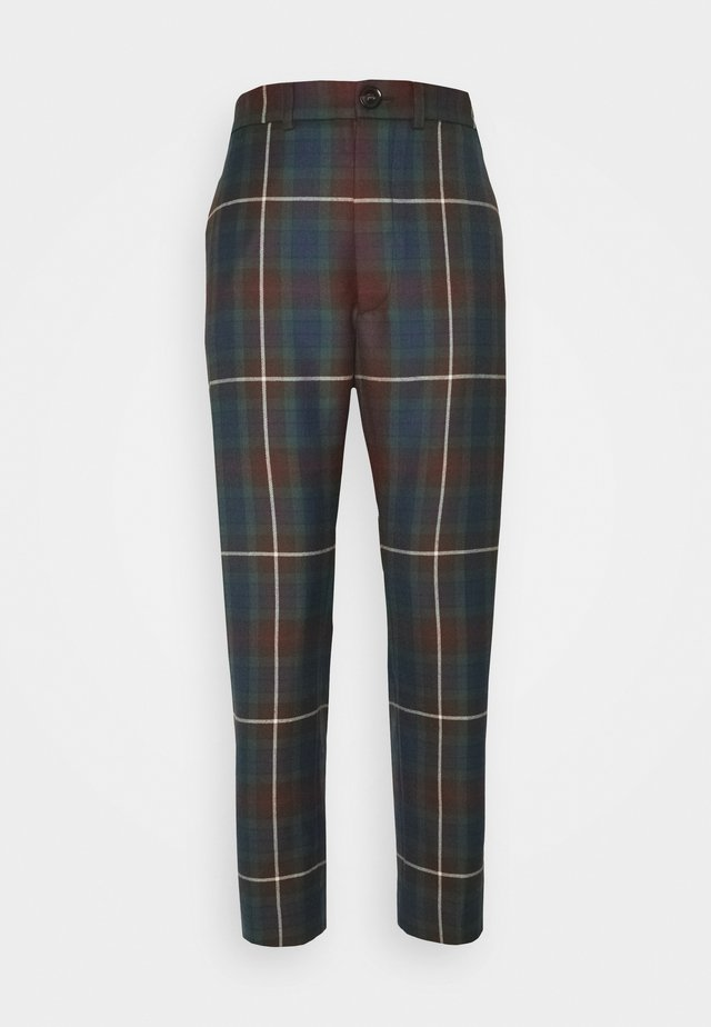 GEORGE TROUSERS - Kangashousut - brown