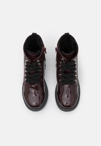 TOM TAILOR - Lace-up ankle boots - bordo - 3