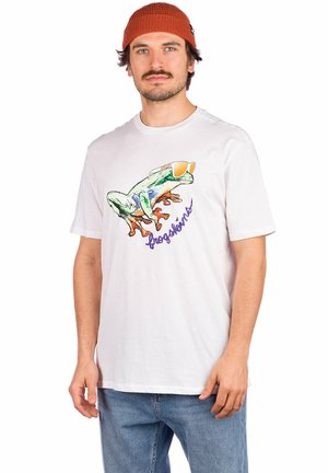 JUPITER FROG - Print T-shirt - white