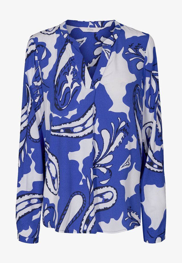Camicetta - dazzling blue