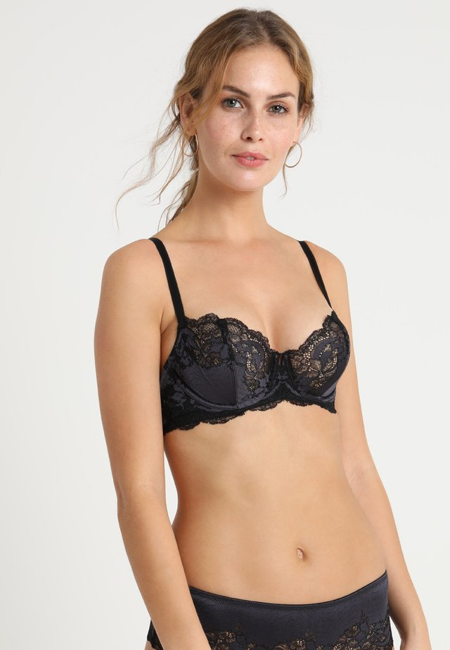 AFFAIR UNDERWIRE BRA - Beugel BH - black/graphite