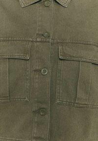 Dr.Denim Plus - NEVADA JACKET - Denim jacket - dark emerald - 6