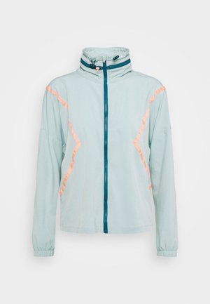 ONPFERR TRAIN - Training jacket - gray mist/neon orange