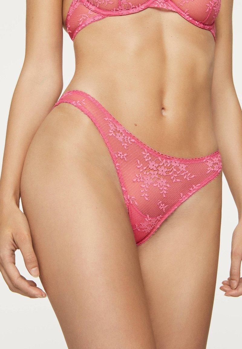 OYSHO - Slip - neon pink