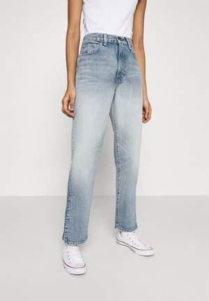 THE COLUMN - Straight leg jeans - light-blue denim