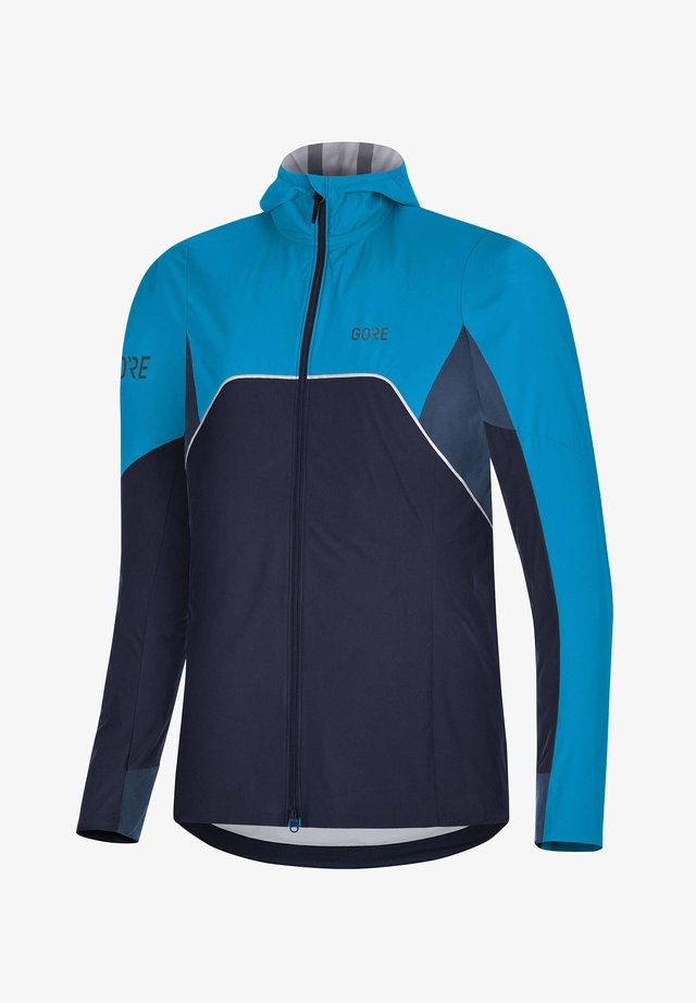 "DAMEN LAUFJACKE ""R7 PARTIAL GORE-TEX INFINIUM"" - Soft shell jacket - blau"