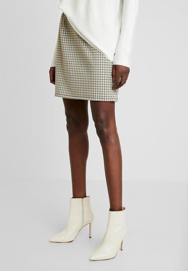MAILLARD FANT - Minifalda - ecru