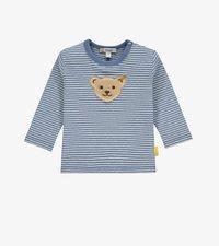 Steiff - LET'S PLAY - Long sleeved top - bijou blue - 0