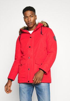 Cappotto invernale - scarlet