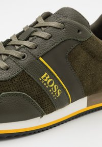 BOSS Kidswear - TRAINERS - Zapatillas - khaki - 5