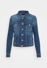 Marc O'Polo - JACKET BUTTON CLOSURE - Denim jacket - blue denim - 0