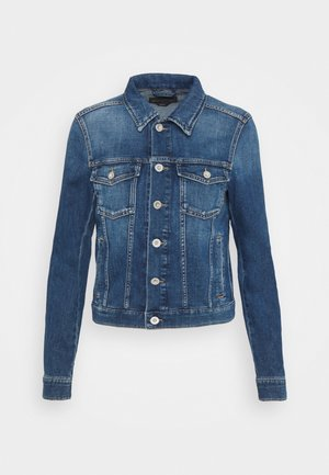 JACKET BUTTON CLOSURE - Jeansjakke - blue denim