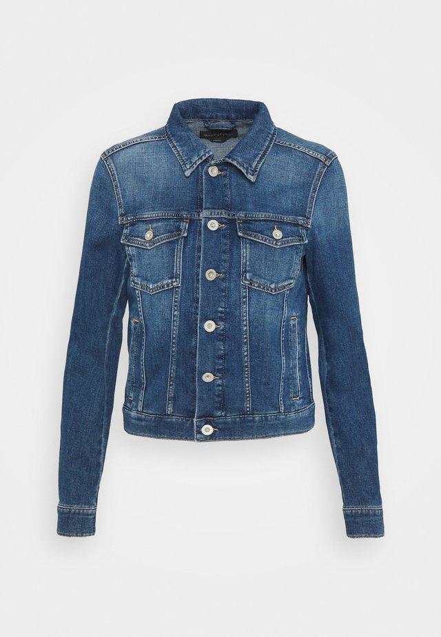 JACKET BUTTON CLOSURE - Denim jacket - blue denim