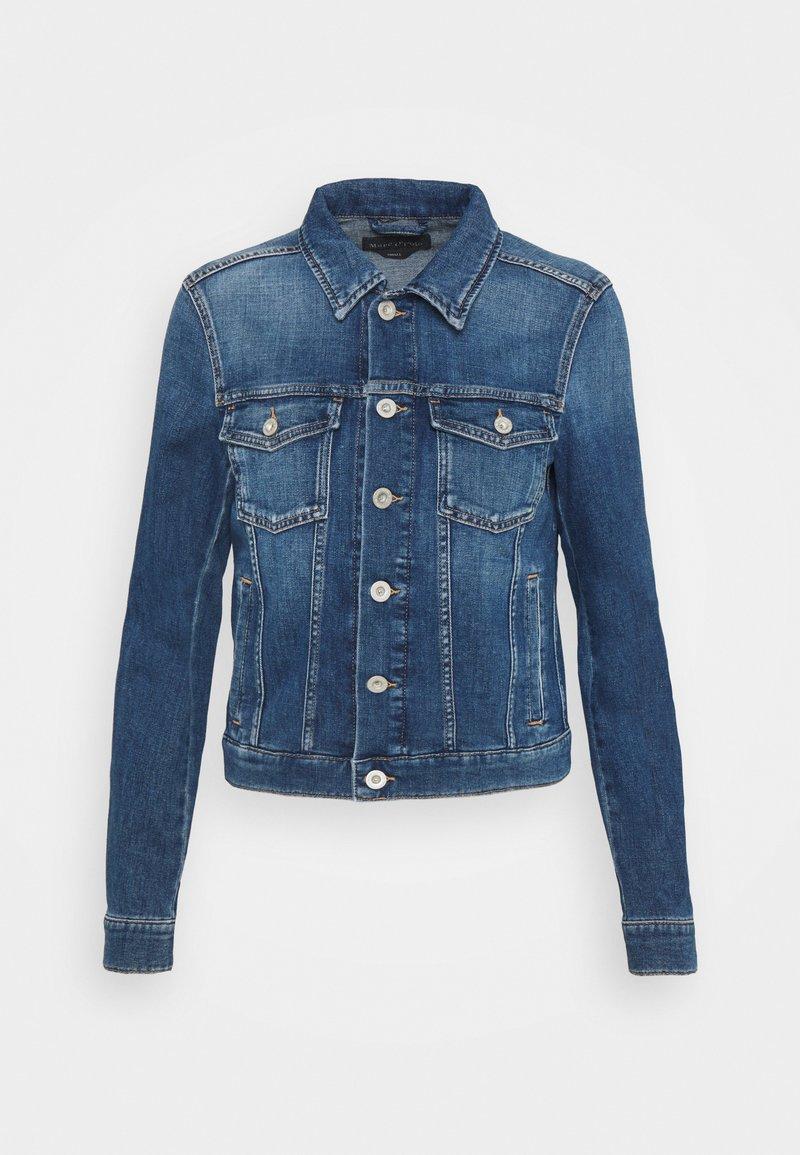 Marc O'Polo - JACKET BUTTON CLOSURE - Denim jacket - blue denim