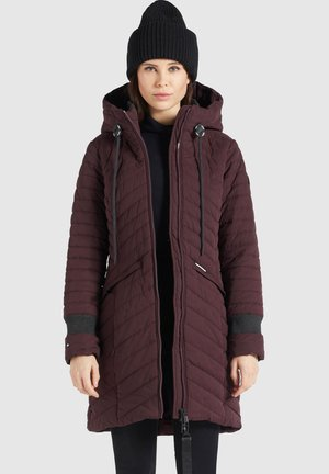 TOOTS PEACHED - Winter coat - weinrot