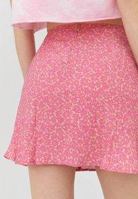 PULL&BEAR - Áčková sukně - rose - 5