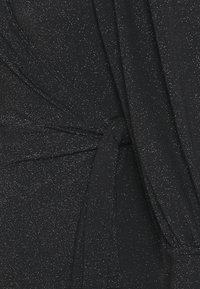 Vero Moda Petite - VMJELINA WRAP  - Long sleeved top - black - 2