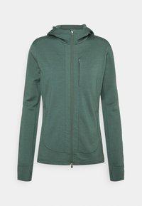 Icebreaker - QUANTUM III ZIP HOOD - Zip-up sweatshirt - sage - 0