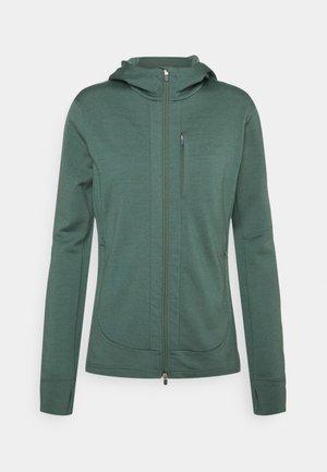 QUANTUM III ZIP HOOD - Zip-up sweatshirt - sage