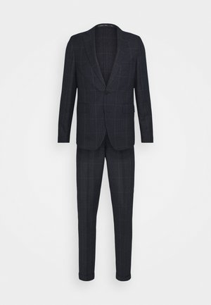 CHECK UNSTRUCTURED - Suit - dark blue