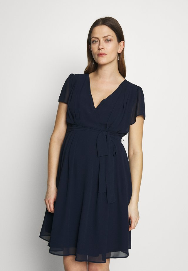 SYLVIA - Day dress - marine/navy