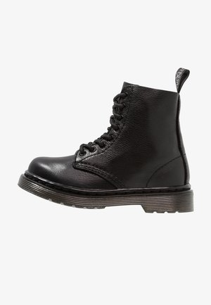 1460 PASCAL MONO - Lace-up ankle boots - black