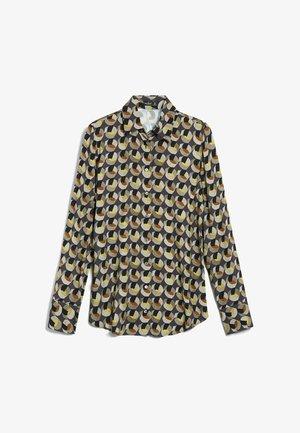 M-CARRYS - Button-down blouse - grau flieder