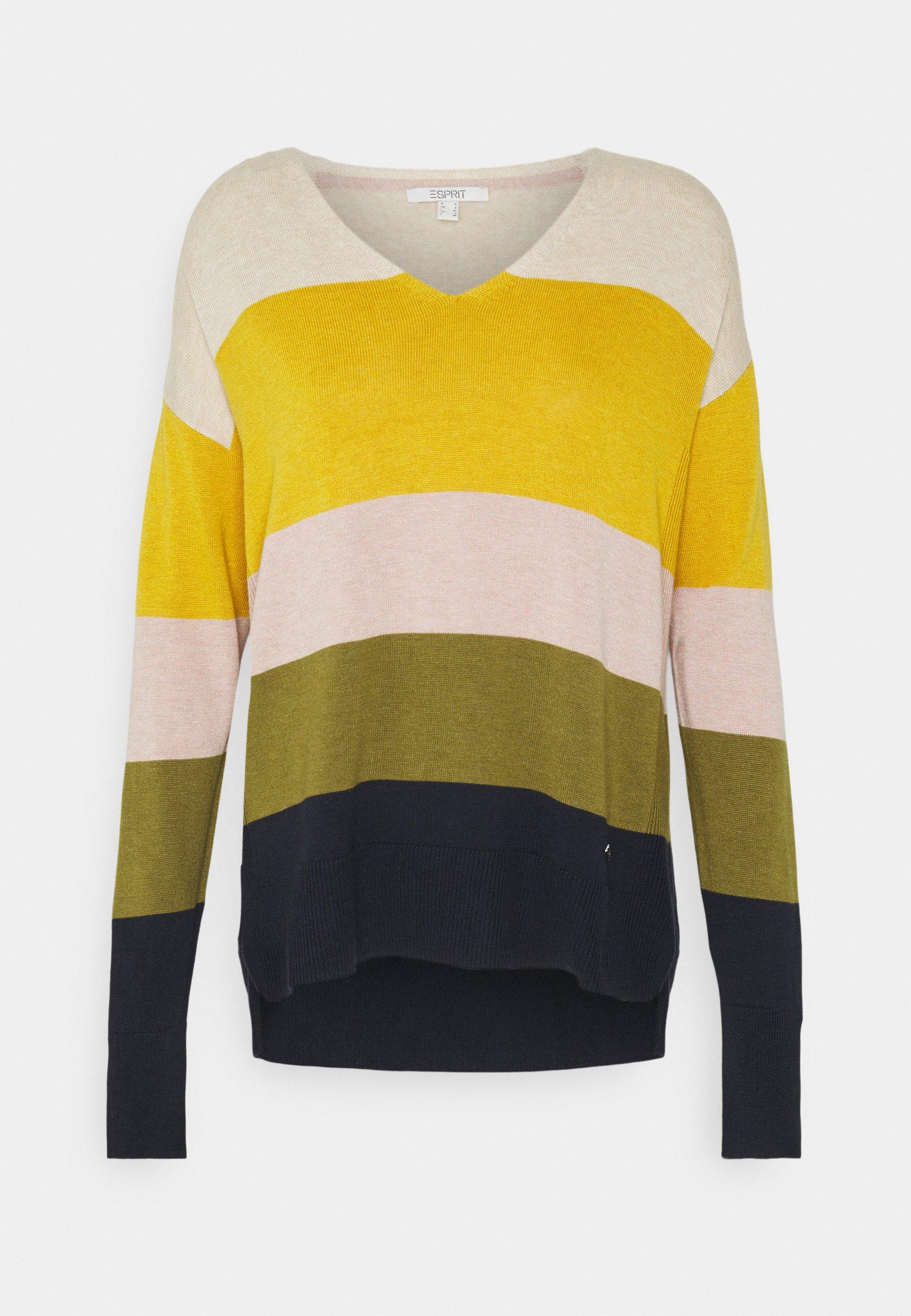 Damen CORE - Strickpullover - brass yellow