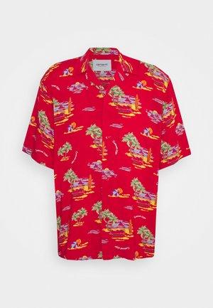 BEACH - Shirt - etna red