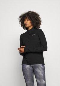 Nike Performance - ELEMENT - Maglietta a manica lunga - black/reflective silver - 0
