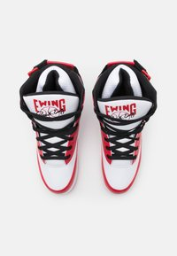 Ewing - Baskets montantes - white/chinese red/black - 5