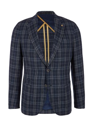 LIMITED EDITION GLENCHECK - Blazer jacket - dark blue check