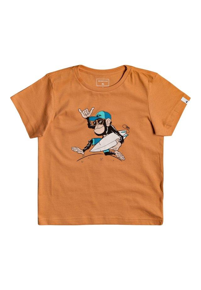QUIKSILVER™ BANANA ALLEY - T-SHIRT FÜR JUNGEN 2-7 EQKZT03372 - T-shirt print - apricot buff