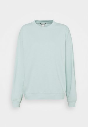 Sweatshirt - green dusty light
