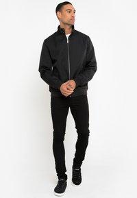 Threadbare - HAYMARKET HARRINGTON - Light jacket - schwarz - 1