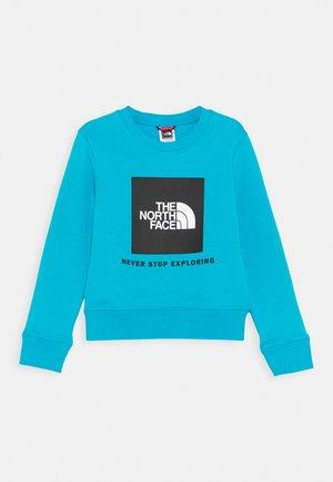 BOX CREW UNISEX - Sweatshirt - meridian blue