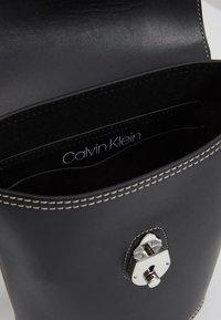 Calvin Klein - LOCK BUCKET - Across body bag - black - 4