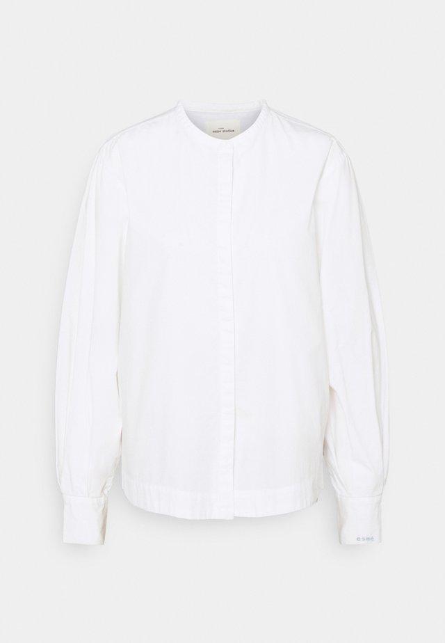 GAIL BOXY LOOSE - Bluser - white
